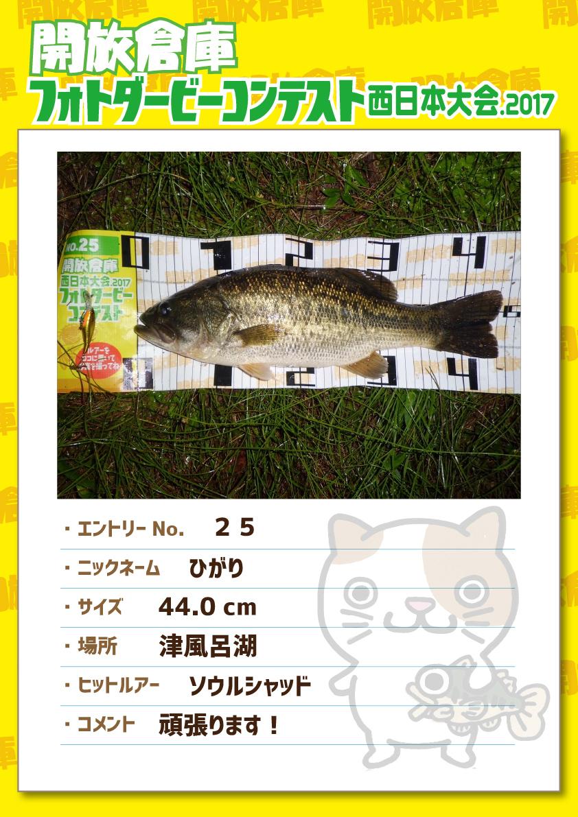 No.025 ひがり 44.0cm 津風呂湖 ソウルシャッド 頑張ります!